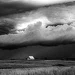 B&W Summer Storm