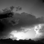 B&W Tetons Storm I